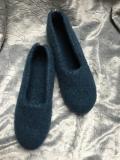 Herren - Filzschuhe in Blau